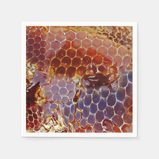 Honeycomb Honey Structure Disposable Napkins