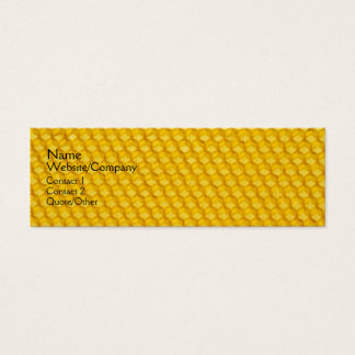 Honeycomb Mini Business Card