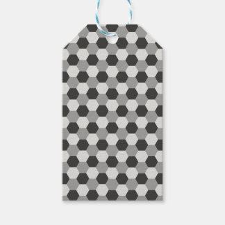 Honeycomb pattern pack of gift tags