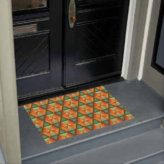 Honeycomb sample at door mat