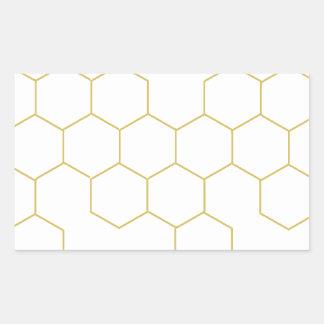 Honeycomb simplified pattern design