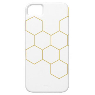 Honeycomb simplified pattern design iPhone 5 cases
