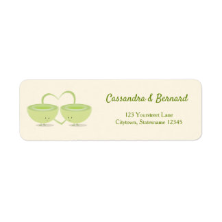 Honeydew and Heart | Return Address Label