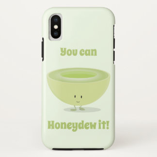Honeydew Encouragement | iPhone X Case