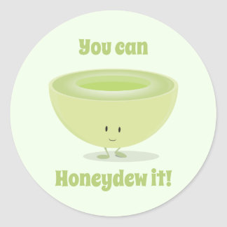 Honeydew Encouragement | Sticker