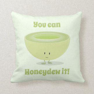Honeydew Encouragement | Throw Pillow