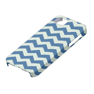 Honeydew Green and Blue Chevron Pattern iPhone 5 Cover