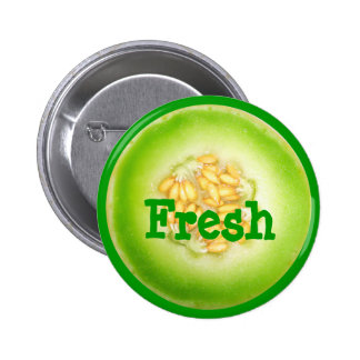 Honeydew Melon Button