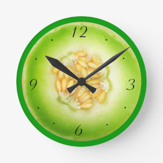 Honeydew Melon Clock