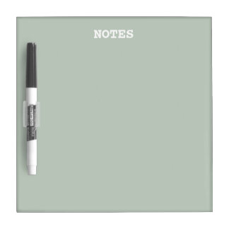 Honeydew Solid Color Dry Erase Board