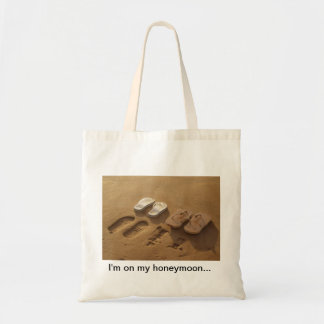 Honeymoon beach bag