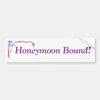 Honeymoon Bound sticker