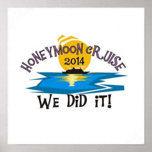 Honeymoon Cruise 2014 Posters