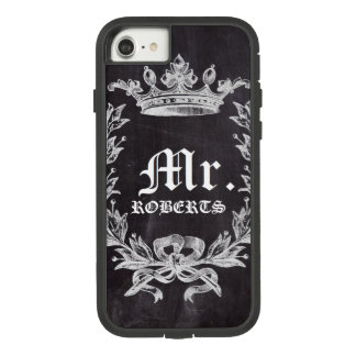 Honeymoon Groom chalkboard wedding Mr Case-Mate Tough Extreme iPhone 8/7 Case