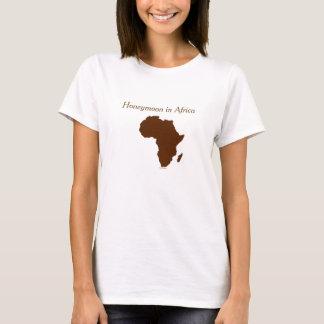 """Honeymoon In Africa"" - Brown Silhouette T-Shirt"