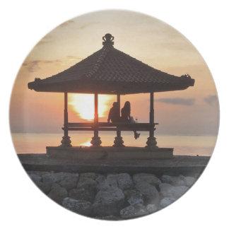 Honeymoon in Bali Plate