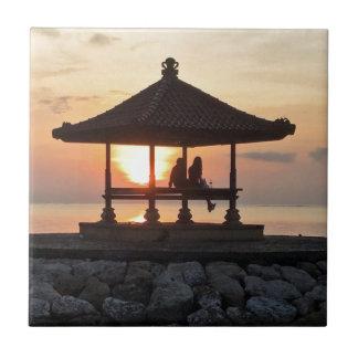 Honeymoon in Bali Tile