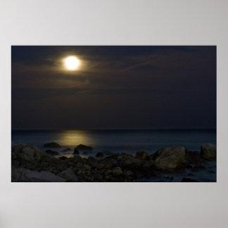 Honeymoon Moonlight Print