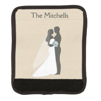 Honeymoon Newlywed Couple Luggage Handle Wrap