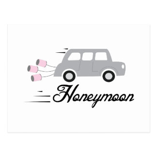 Honeymoon Postcard
