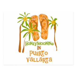 Honeymoon Puerto Vallarta Tshirts and Gifts Postcard