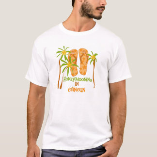 Honeymooning in Cancun T-shirt
