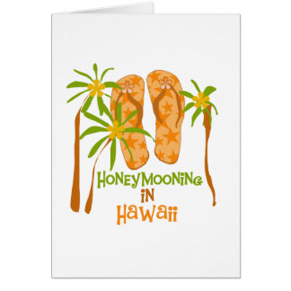 Honeymooning in Hawaii Card