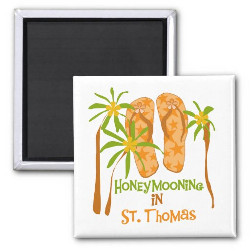 Honeymooning in St. Thomas Magnet