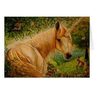 Honey's Meadow - Unicorn Notecard