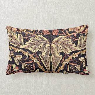Honeysuckle, a William Morris vintage design Lumbar Pillow