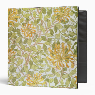 'Honeysuckle' design, 1883 Vinyl Binders