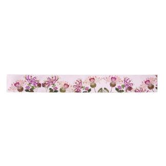 Honeysuckle Floral Flowers Garden Ribbon Satin Ribbon