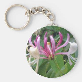 Honeysuckle Flower Keychain