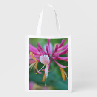 Honeysuckle Reusable Grocery Bag