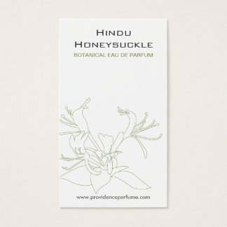 HONEYSUCKLE WHITE Business Card