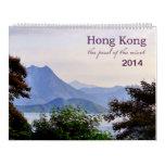 Hong Kong 2014 Calendar