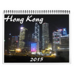 Hong Kong 2015 Calendrier Mural