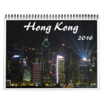 Hong Kong 2016 Calendrier