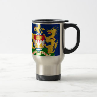 Hong Kong Autonomy Movement Flag Travel Mug