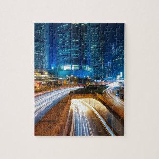 Hong Kong City Jigsaw Puzzle