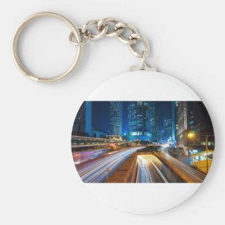 Hong Kong City Keychain