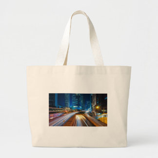 Hong Kong City Large Tote Bag