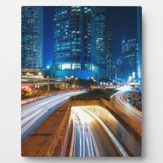 Hong Kong City Plaque