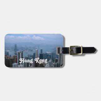 Hong Kong Cityscape Luggage Tag