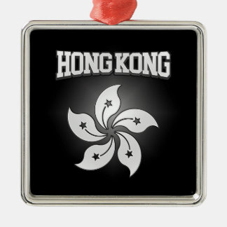 Hong Kong Coat of Arms Metal Ornament