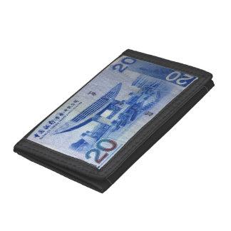 Hong Kong Dollar Tri-fold Wallet