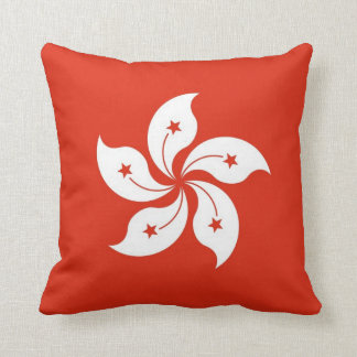 Hong Kong Flag American MoJo Pillow