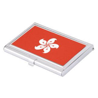 Hong Kong Flag Business Card Holder