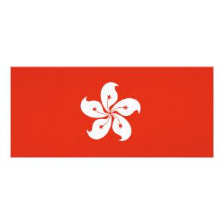 Hong Kong Flag Custom Rack Cards