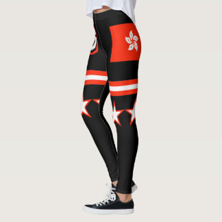Hong Kong Flag Leggings